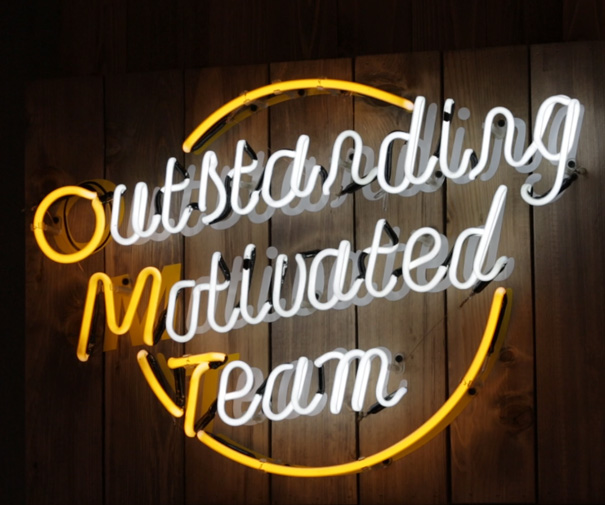 Outstanding Motivated Team