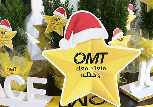 OMT Spreading the Holiday Spirit