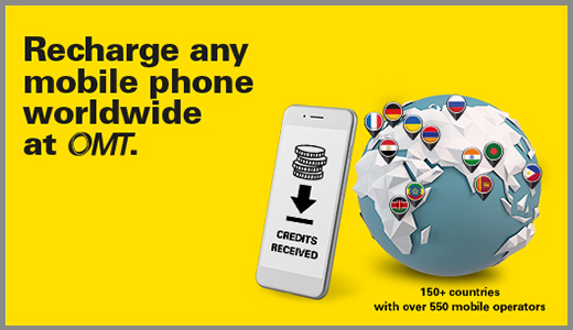 Worldwide Mobile Phone Recharge