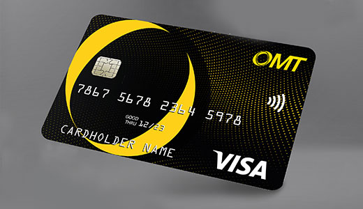 Meet OMT's Prepaid and Reloadable Dual Currency Card!